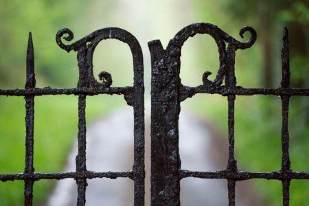 MI Entrance Gate Feature