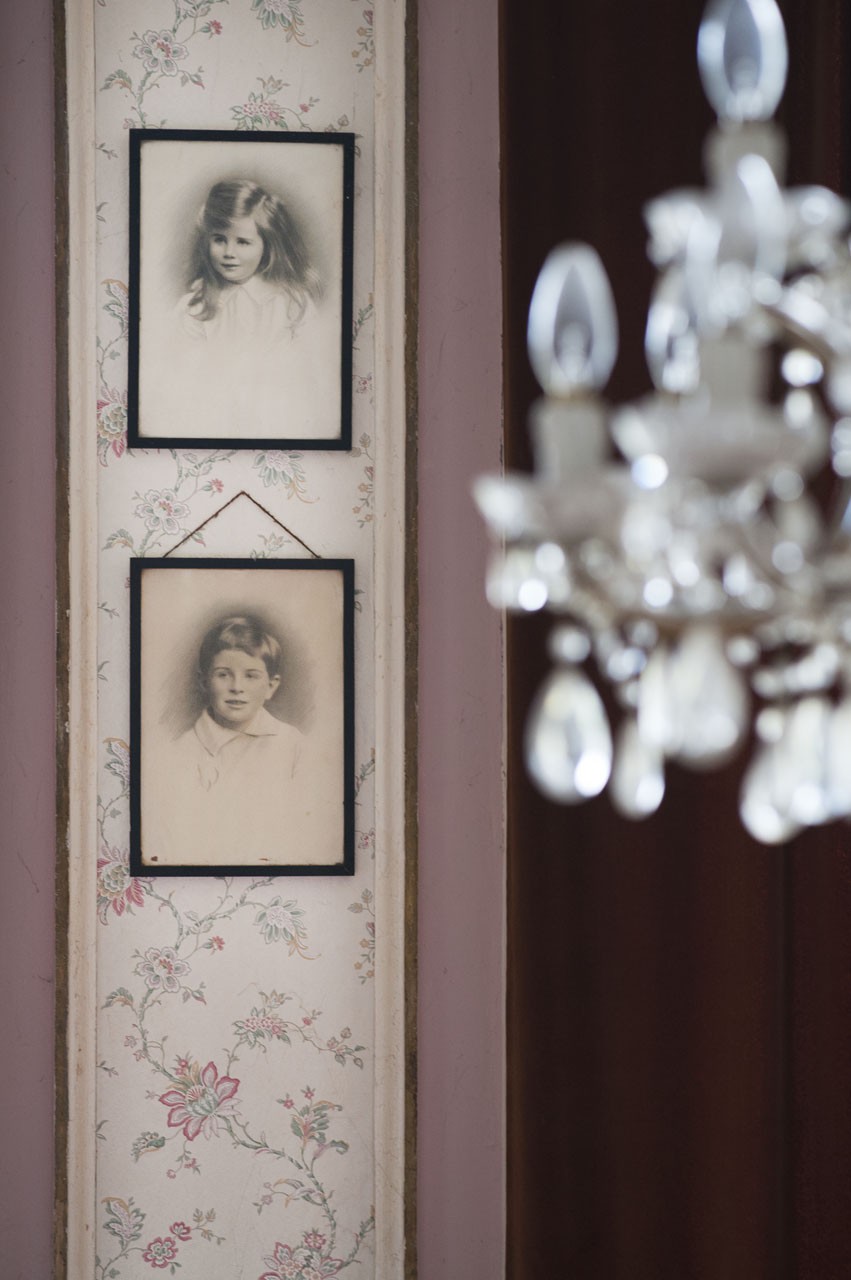 Relatives Photos On Wall