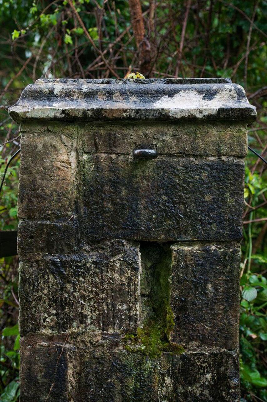 MI Stone Pillar