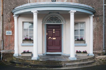 Admin Entrance Door
