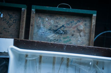 Old Lab Bench Drawer